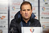 Jagoba Arrasate (Coach; CA Osasuna) during the Spanish football of La Liga 123, match between CA Osasuna and Málaga CF at the Sadar stadium, in Pamplona (Navarra), Spain, on Saturday, November 3, 2018.