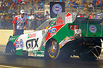 Apr 09, 2010; 3:15:29 PM; Baytown, TX., USA; The NHRA Full Throttle Drag Racing Series event running The 23rd annual O'Reilly Auto Parts NHRA Spring Nationals at the Houston RaceWay Park.  Mandatory Credit: (thesportswire.net)