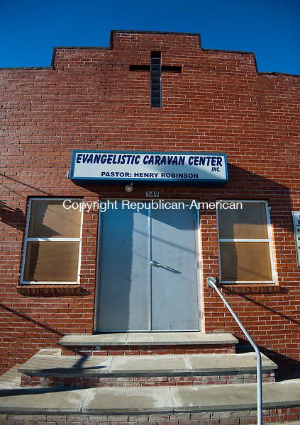WATERBURY, CT--- -010516JS12--The Evangelistic Caravan Center, Inc., located at 549 North Main Street in Waterbury. <br /> Jim Shannon Republican-American