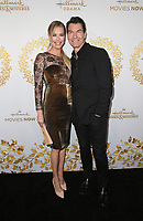 PASADENA, CA - FEBRUARY 9: Rebecca Romijn, Jerry O'Connell, at the Hallmark Channel and Hallmark Movies &amp; Mysteries Winter 2019 TCA at Tournament House in Pasadena, California on February 9, 2019. <br /> CAP/MPI/FS<br /> &copy;FS/MPI/Capital Pictures