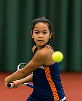 Wateringen, The Netherlands, March 9, 2018,  De Reijenhof , NOJK 12/16 years, Chayenne Kasan (NED)<br /> Photo: www.tennisimages.com/Henk Koster