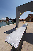 Venice, Italy - 15th Architecture Biennale 2016, &quot;Reporting from the Front&quot;.<br /> Arsenale.<br /> ORG Permanent Modernity.