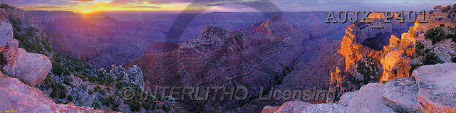 Dr. Xiong, LANDSCAPES, panoramic, photos, Grand Canyon, Arizona, USA(AUJXP401,#L#)