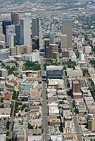 Downtown Denver aerial.  Aug 2013. 81436