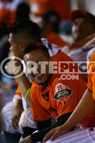 Jorge Flores de Naranjeros , durante el partido entre Aguilas de Mexicali y Naranjeros de Hermosillo.Fiesta Mexicana del beisbol celebrada en el estadio Sloan Park en Mesa ( Phoenix ) Arizona, el 18 de Septiembre del 2015.<br /> <br /> CreditoFoto:LuisGutierrez<br /> TodosLosDerechosReservados<br /> ElIMPARCIAL