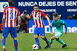 Atletico de Madrid's midfielder Koke Resurrecccion (L) -and FC Barcelona's Denis Suarez (R) competes for the ball with  during the match of Copa del Rey between Atletico de  Madrid and Futbol Club Barcelona at Vicente Calderon Stadium in Madrid, Spain. February 1st 2017. (ALTERPHOTOS/Rodrigo Jimenez)