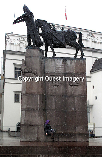 Vilnius is the capital of Lithuania, and its largest city,  located in the southeast section of the country. It is the second biggest city of the Baltic states, after Riga.<br /> Photo by Deirdre Hamill/Quest Imagery