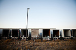 Empty shipping trailers outside the Amazon warehouse in Fernley, Nevada, December 13, 2011. CREDIT: Max Whittaker/Prime for The Wall Street Journal.AMAZONTOWN