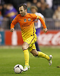 FC Barcelona's Andres Iniesta during Spanish King's Cup match.October 30,2012. (ALTERPHOTOS/Acero)