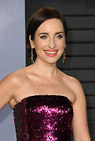 04 March 2018 - Los Angeles, California - Zoe Lister-Jones. 2018 Vanity Fair Oscar Party hosted following the 90th Academy Awards held at the Wallis Annenberg Center for the Performing Arts. <br /> CAP/ADM/BT<br /> &copy;BT/ADM/Capital Pictures