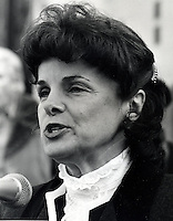Former San Francisco mayor and U.S. Senator<br />