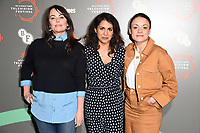 "Polly Walker, Maya Sondhi and Rochenda Sandall<br /> at the ""Line of Duty"" photocall as part of the BFI & Radio Times Television Festival 2019 at BFI Southbank, London<br /> <br /> ©Ash Knotek  D3494  13/04/2019"