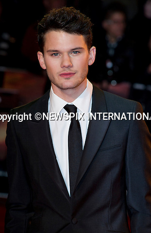 """WARHORSE ROYAL PREMIERE.Jeremy Irvine..Catherine, The Duchess of Cambridge attends her first Royal Premiere for the UK Premiere of Warhorse.The Duchess was accompanied by the Duke of Cambridge, Prince William_08/01/2012..Mandatory Photo Credit: ©Dias/Newspix International..**ALL FEES PAYABLE TO: """"NEWSPIX INTERNATIONAL""""**..PHOTO CREDIT MANDATORY!!: NEWSPIX INTERNATIONAL(Failure to credit will incur a surcharge of 100% of reproduction fees)..IMMEDIATE CONFIRMATION OF USAGE REQUIRED:.Newspix International, 31 Chinnery Hill, Bishop's Stortford, ENGLAND CM23 3PS.Tel:+441279 324672  ; Fax: +441279656877.Mobile:  0777568 1153.e-mail: info@newspixinternational.co.uk"""