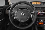 Steering wheel view of a 2010 Citroen C4 Millenium 5 Door Hatchback 2WD