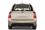 Straight rear view of a 2008 Kia Rondo LX V6