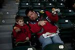 04/14/2011 - Fans file in at Jeld-Wen Field Thursday as the Portland Timbers' prepare to take on Chicago opening day.