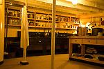 Kitchen, SS Great Britain maritime museum, Bristol, England