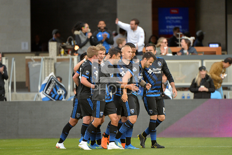 San Jose, CA - Saturday June 09, 2018: Vako during a Major League Soccer (MLS) match between the San Jose Earthquakes and Los Angeles Football Club at Avaya Stadium.