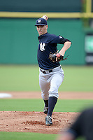 New York Yankees pitcher Andy Beresford (54) during an Instructional League game against the Philadelphia Phillies on September 23, 2014 at the Bright House Field in Clearwater, Florida.  (Mike Janes/Four Seam Images)