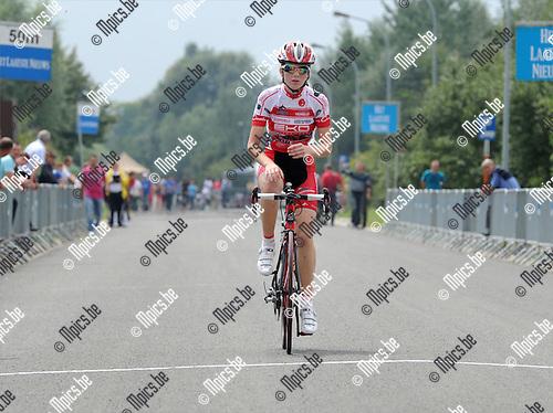 2011-07-21 / Wielrennen / seizoen 2011 / Vlaams kampioenschap wegrit / Aspiranten meisjes 12 jaar / Lotte Rotman won de wegrit en werd Vlaams Kampioen..Foto: mpics