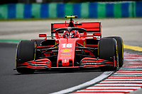 17th July 2020, Hungaroring, Budapest, Hungary; F1 Grand Prix of Hungary,  free practise sessions;  16 Charles Leclerc MCO, Scuderia Ferrari Mission Winnow