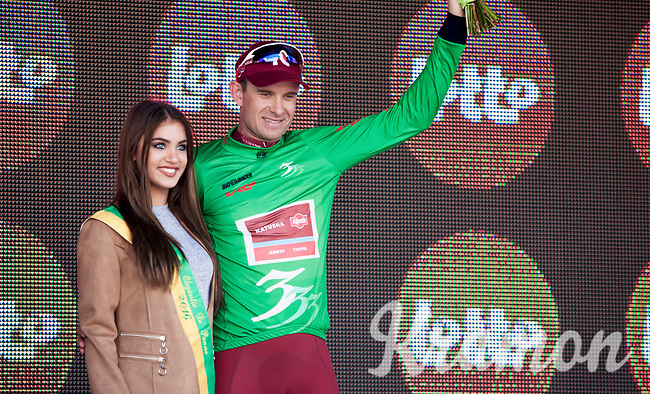 Green Jersey winner Alexander Kristoff (NOR/Katusha Alpecin)<br /> <br /> 3 Days of De Panne 2017