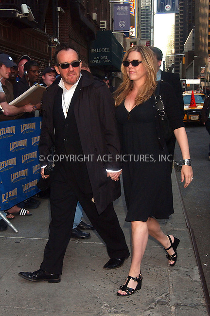 WWW.ACEPIXS.COM . . . . . ....May 14 2007, New York City....Elvis Costello at 'The Late Show with David Letterman' at the Ed Sillivan Theatre in Midtown Manhattan.....Please byline: KRISTIN CALLAHAN - ACEPIXS.COM.. . . . . . ..Ace Pictures, Inc:  ..(646) 769 0430..e-mail: info@acepixs.com..web: http://www.acepixs.com