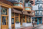 5 North Square restaurant in the North End neighborhood, Boston, Massachusetts, USA