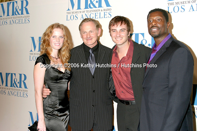 Rebecca Mader, Victor Garber, Kerr Smith, and Eamonn Walker.Museum of TV & Radio Annual Gala IHO Les Moonves and Jerry Bruckheimer.Regent Beverly Wilshire Hotel.Beverly Hills, CA.October 30, 2006.©2006 Kathy Hutchins / Hutchins Photo....