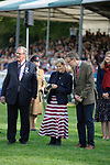 Stamford, Lincolnshire, United Kingdom, 8th September 2019, HRH Countess of Wessex during the prize giving at the end of the 2019 Land Rover Burghley Horse Trials, Credit: Jonathan Clarke/JPC Images