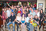 21ST WISHES: Grace Kerins, Fountain Court, Tralee (seated centre) celebrating her 21st birthday last Saturday night in The Mall Tavern, Tralee with her parents, friends and family.