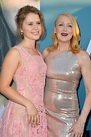 Eliza Scanlen &amp; Patricia Clarkson at the premiere for the HBO series &quot;Sharp Objects&quot; at the Cinerama Dome, Los Angeles, USA 26 June 2018<br /> Picture: Paul Smith/Featureflash/SilverHub 0208 004 5359 sales@silverhubmedia.com