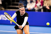 Alphen aan den Rijn, Netherlands, December 16, 2018, Tennispark Nieuwe Sloot, Ned. Loterij NK Tennis, Womans : Rosalie vd Hoek (NED)<br /> Photo: Tennisimages/Henk Koster