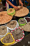 PHILIPPINES, Manila, Qulapo District, dried shrimp and fish for sale at the Quina Market