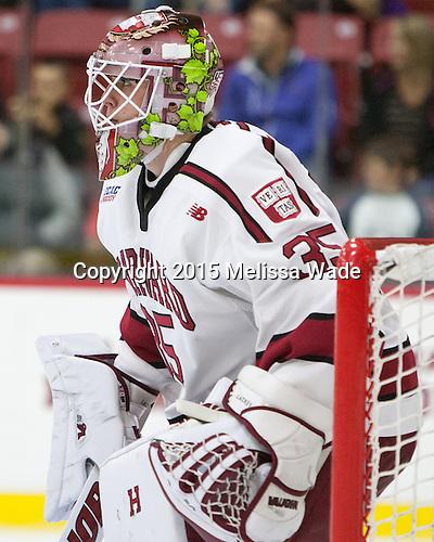 Michael Lackey (Harvard - 35) - The Harvard University Crimson defeated the visiting Brown University Brown Bears 5-2 (EN) on Saturday, November 7, 2015, at Bright-Landry Center in Boston, Massachusetts.