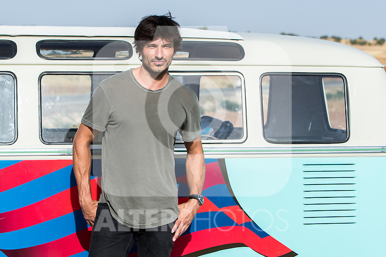 "Spanish actor Andres Velencoso during the filming of the movie "" Senor, dame paciencia"" directed by Alvaro Diaz. September 06, 2016. (ALTERPHOTOS/Rodrigo Jimenez)"