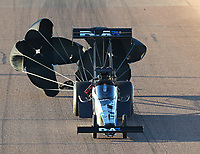 Feb 23, 2019; Chandler, AZ, USA; NHRA top fuel driver Jordan Vandergriff during qualifying for the Arizona Nationals at Wild Horse Pass Motorsports Park. Mandatory Credit: Mark J. Rebilas-USA TODAY Sports