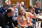 SOESTERBERG - Technisch Kader congres 2015 olv Topcoach Koen Gonnissen. Marieke Dijkstra en Joost van Geel als toehoorders. COPYRIGHT KOEN SUYK