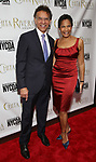 Brian Stokes Mitchell and Allyson Tucker attends the Chita Rivera Awards at NYU Skirball Center on May 19, 2019 in New York City.