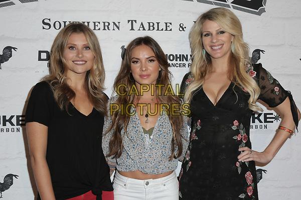 05 April 2018 - Los Angeles, California - Runaway June, Naomi Cooke, Hannah Mulholland, and Jennifer Wayne.  The Grand Opening of Yardbird LA at Yardbird Southern Table &amp; Bar.  <br /> CAP/ADM/PMA<br /> &copy;BT/ADM/Capital Pictures