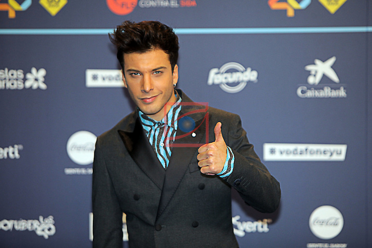 Los 40 MUSIC Awards 2016 - Photocall.<br /> Blas Canto.