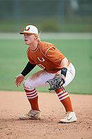 Ethan Anderson (10) during the WWBA World Championship at the Roger Dean Complex on October 13, 2019 in Jupiter, Florida.  Ethan Anderson attends Frank W. Cox High School in Virginia Beach, VA and is committed to Virginia.  (Mike Janes/Four Seam Images)