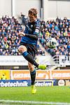 05.10.2019, Benteler Arena, Paderborn, GER, 1.FBL, SC Paderborn 07 vs 1. FSV Mainz 05<br /><br />DFL REGULATIONS PROHIBIT ANY USE OF PHOTOGRAPHS AS IMAGE SEQUENCES AND/OR QUASI-VIDEO.<br /><br />im Bild / picture shows<br />Luca Kilian (Paderborn #15), <br /><br />Foto © nordphoto / Ewert