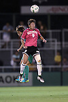 (L-R) <br /> Azusa Iwashimizu (Beleza), <br /> Yuika Sugasawa (Jef Ladies), <br /> SEPTEMBER 3, 2016 - Football / Soccer : <br /> Plenus Nadeshiko League Cup 2016 Division 1 Final match <br /> between NTV Beleza 4-0 Jef Chiba Ladies <br /> at Ajinomoto Field Nishigaoka in Tokyo, Japan. <br /> (Photo by AFLO SPORT)