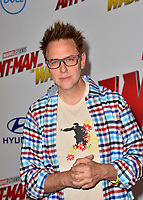 James Gunn at the premiere for &quot;Ant-Man and the Wasp&quot; at the El Capitan Theatre, Los Angeles, USA 25 June 2018<br /> Picture: Paul Smith/Featureflash/SilverHub 0208 004 5359 sales@silverhubmedia.com