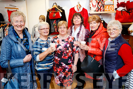 Breda Browne, Sheila Sayers, Joan Doody, Carol Dooley, Margaret O'Shea and Dolores O'Connor, supporting the Coffee Morning, in aid of Multiple Sclerosis, at Paco, Tralee on Friday morning last.