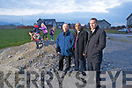 Members of the residents Association of Radharc Na Heaglaise from left Peter Sharpe, Shaz Malik and Kenneth Leen.