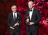 Alfonso Cuar&oacute;n and Mark Sanger<br /> 86TH OSCARS<br /> The Annual Academy Awards at the Dolby Theatre, Hollywood, Los Angeles<br /> Mandatory Photo Credit: &copy;Dias/Newspix International<br /> <br /> **ALL FEES PAYABLE TO: &quot;NEWSPIX INTERNATIONAL&quot;**<br /> <br /> PHOTO CREDIT MANDATORY!!: NEWSPIX INTERNATIONAL(Failure to credit will incur a surcharge of 100% of reproduction fees)<br /> <br /> IMMEDIATE CONFIRMATION OF USAGE REQUIRED:<br /> Newspix International, 31 Chinnery Hill, Bishop's Stortford, ENGLAND CM23 3PS<br /> Tel:+441279 324672  ; Fax: +441279656877<br /> Mobile:  0777568 1153<br /> e-mail: info@newspixinternational.co.uk