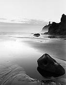 Ruby Beach at Dusk<br /> The Olympic National Park<br /> Washington