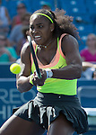 Serena Williams (USA) defeats Karin Knapp (ITA)  6-0, 6-2